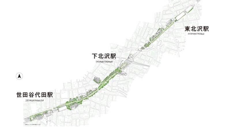 日本自由行-東京-下北線路街-6
