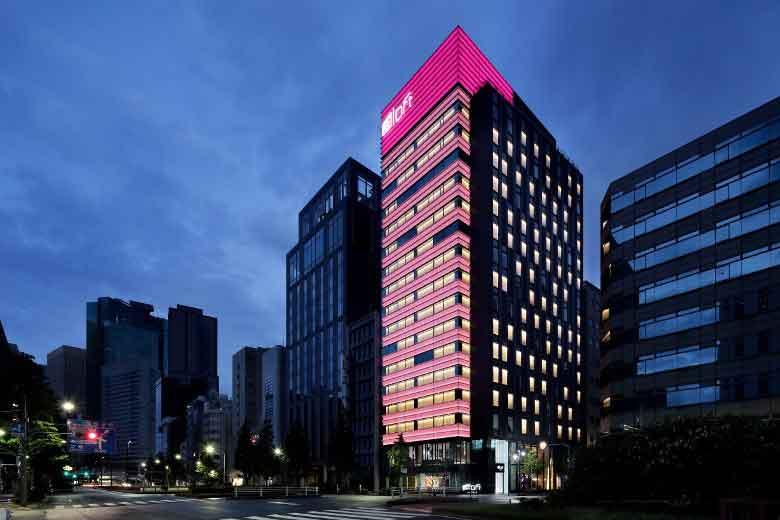 東京新酒店「Aloft 東京銀座」-9
