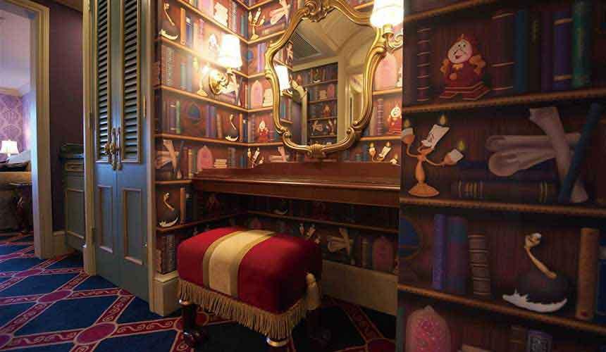 東京迪士尼酒店《美女與野獸》限定主題客房-3