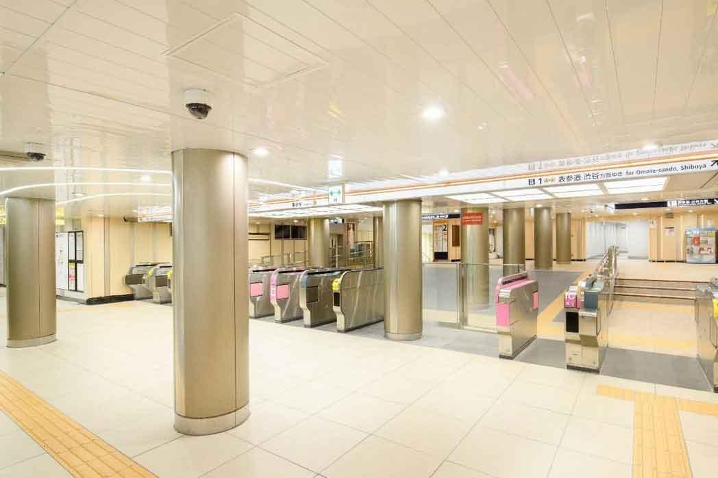 「東京銀座線」車站全新面貌-3